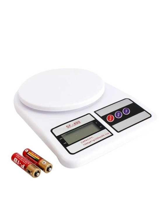 Kitchen Digital Weight Scale - White