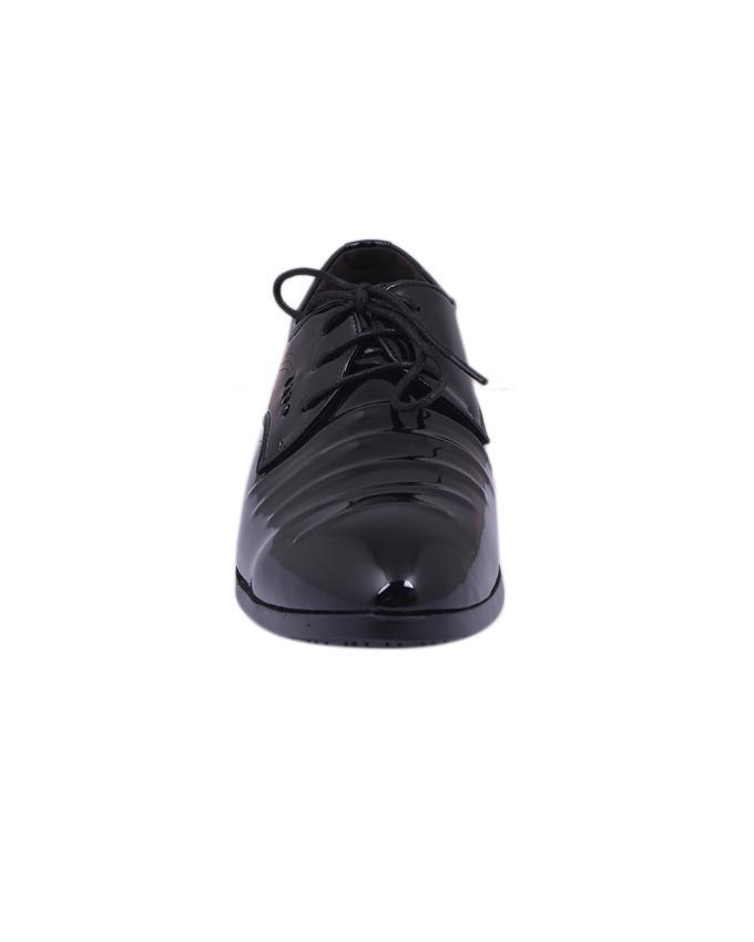 PU Formal Shoe For Men - Black