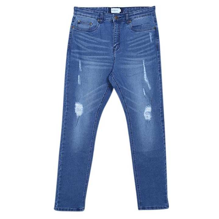 Blue casual Jeans for men