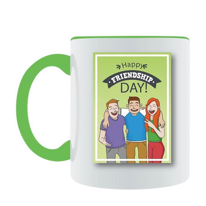 Happy Friendship day Ceramic Mug - White
