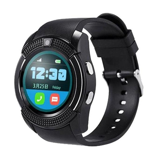 V8 Max Plus Smartwatch - Black