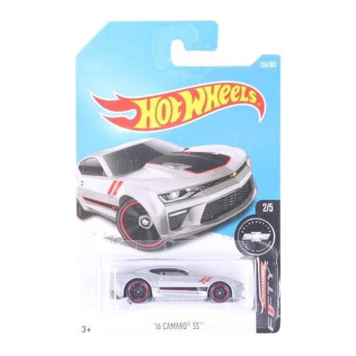 HW 01 Hot Wheels Car - Grey and Black
