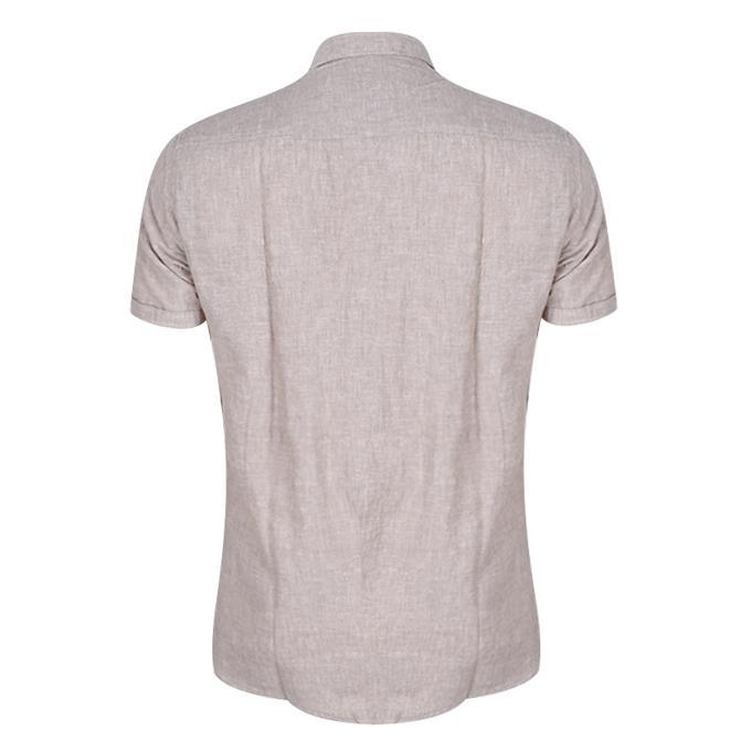 Tan Cotton Shirt For Men