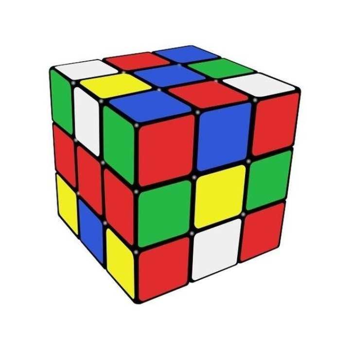 Stress Reducer Toy Rubik's Cube