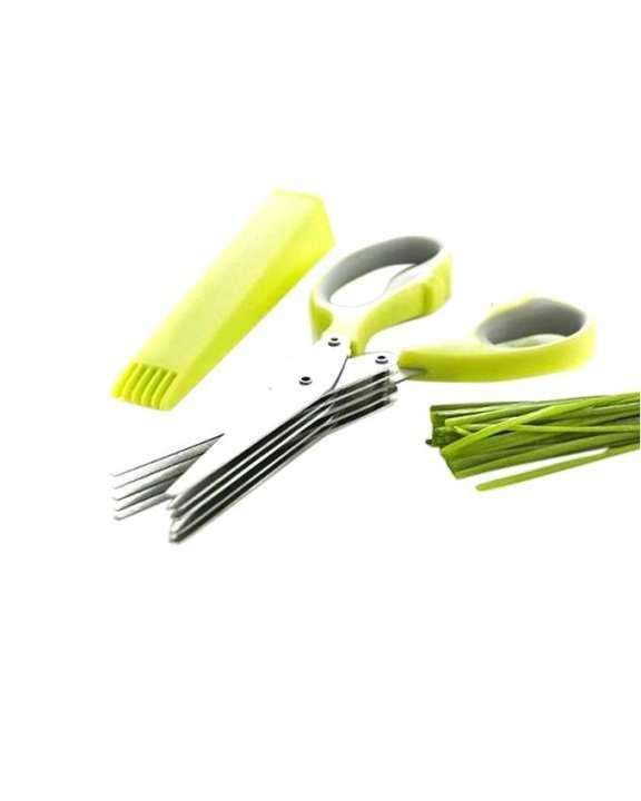 Easy Clean Herb Scissors - Green