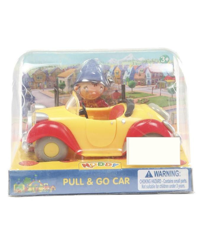 Pull and Go Car - Yellow