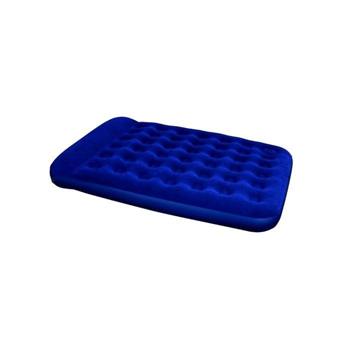 Portable Inflatable Double Bed - Blue