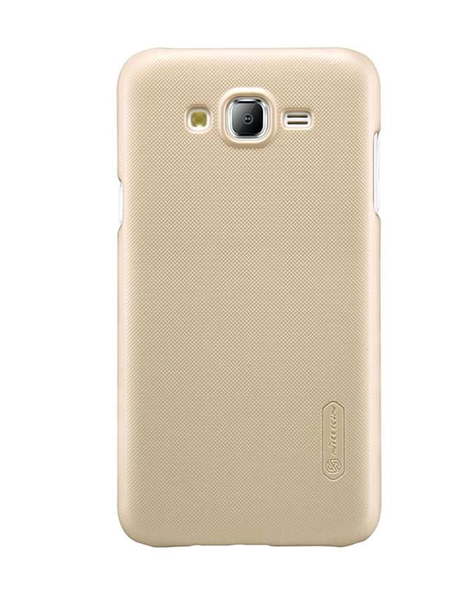 Samsung Galaxy J5 Thin Edition Super Frosted Shield Back Case - Golden