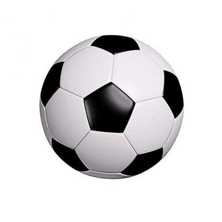 Football Size 2- White and Black