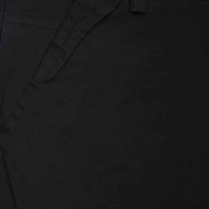 Black Twill Sprint Gabardine Pant For Men