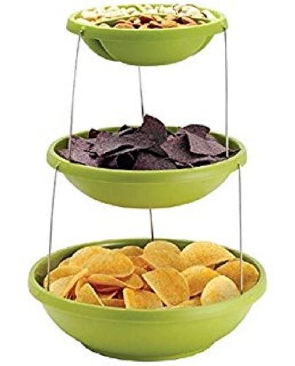 Twistfold Party Bowls (3 Tiers)