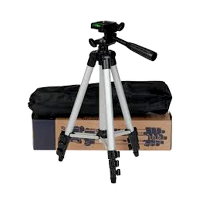 Tripod 3110 Camera Stand - Black And Silver