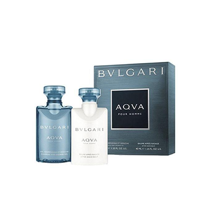 Aqva Pour Homme 40ml After Shave Lotion + 40ml Shampoo and Shower Gel for Men
