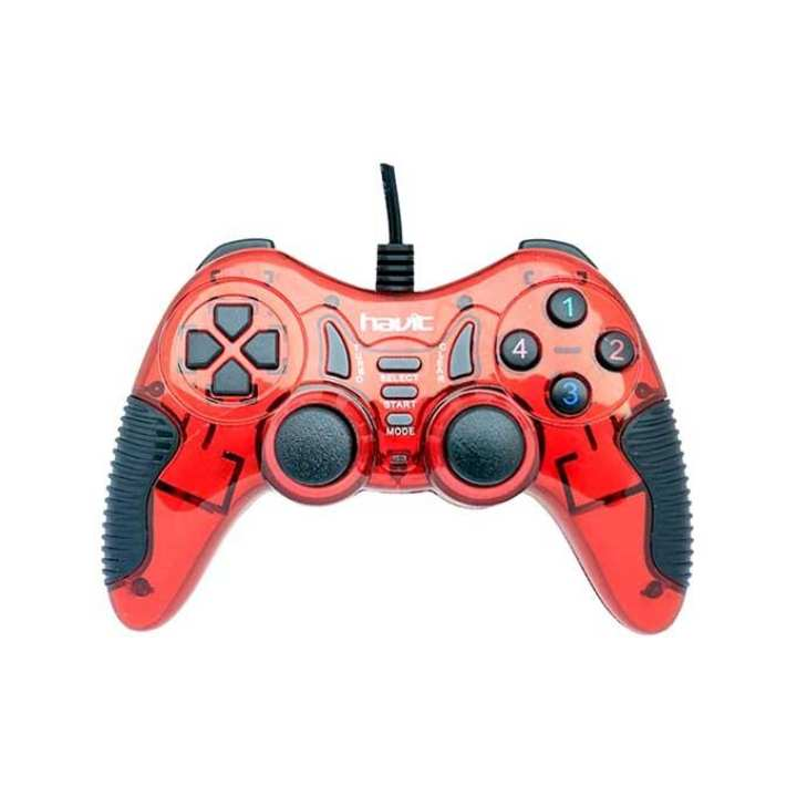 HV-G85 USB Gaming Pad - Red