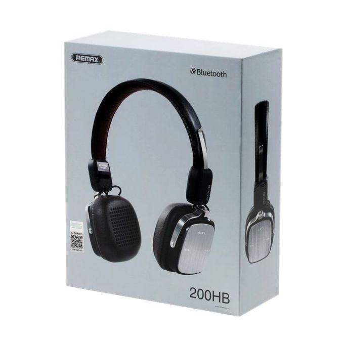 RB-200HB - Bluetooth Headphone - Black