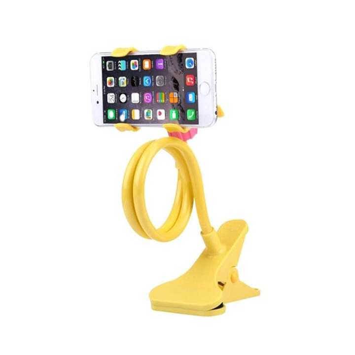 360 Rotate Mobile & Tablet Stand - Yellow
