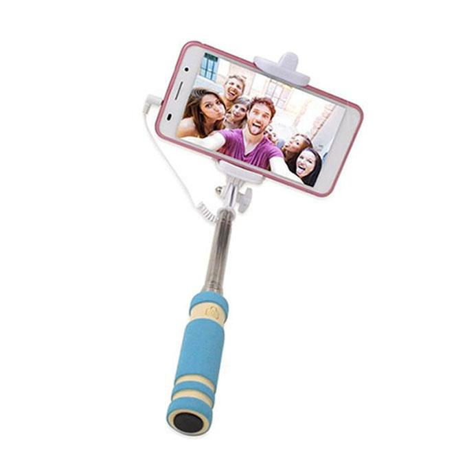 Mini Monopod Selfie Stick For iphone & Android – Sky Blue