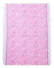 Cotton Printed Bed Sheet - Pink