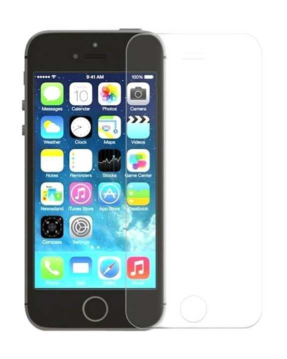 Front and Back Tempered Glass for iPhone 5 & 5s – Transpsrent