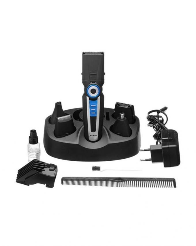 KM008 Electric Shaver and Trimmer - Black