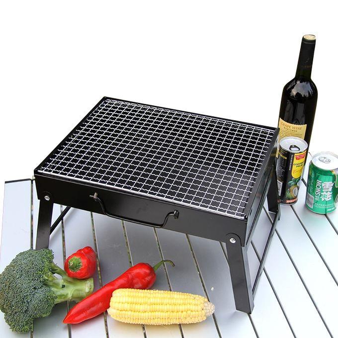 Bar-B-Q Grill Cooker - Black