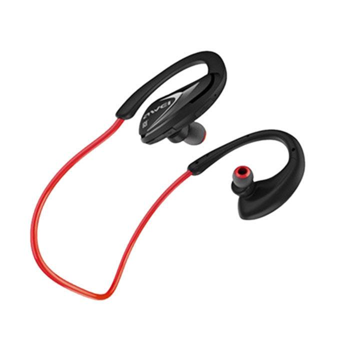 A880BL - Wireless Earphone - Black and Red