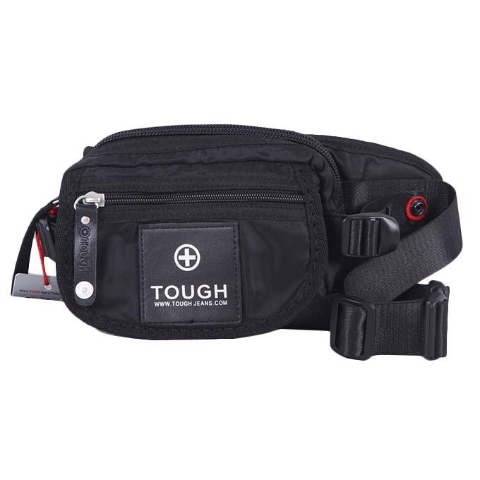 Polyester Messenger Bag For Men - Black