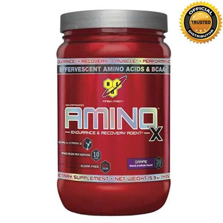 Amino X Endurance And Recovery Agent 438g - Grape
