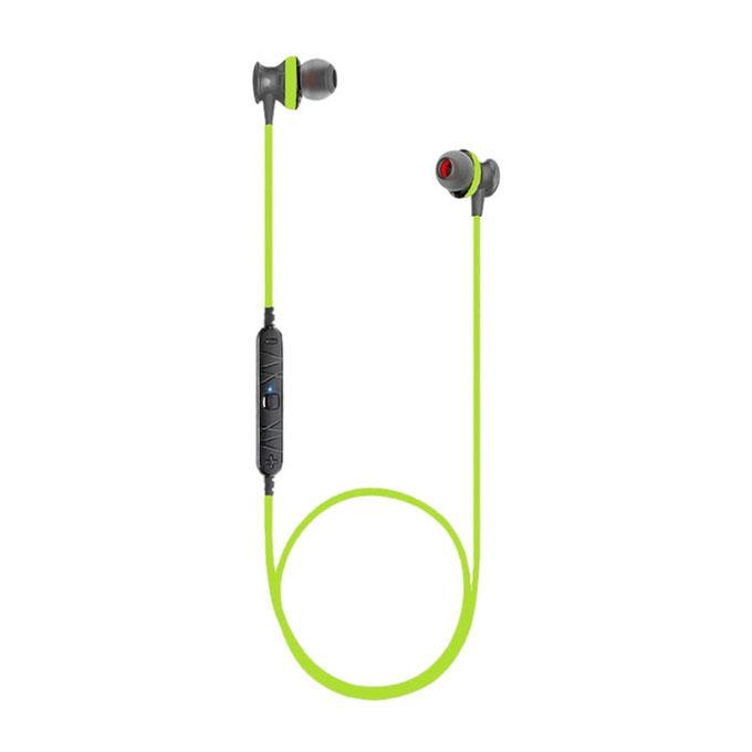 A980BL - Wireless Bluetooth Earphone - Black and Green