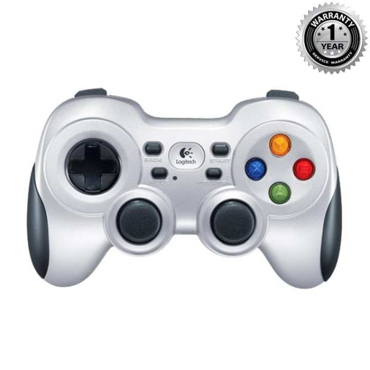 F710 Wireless Gamepad - Silver