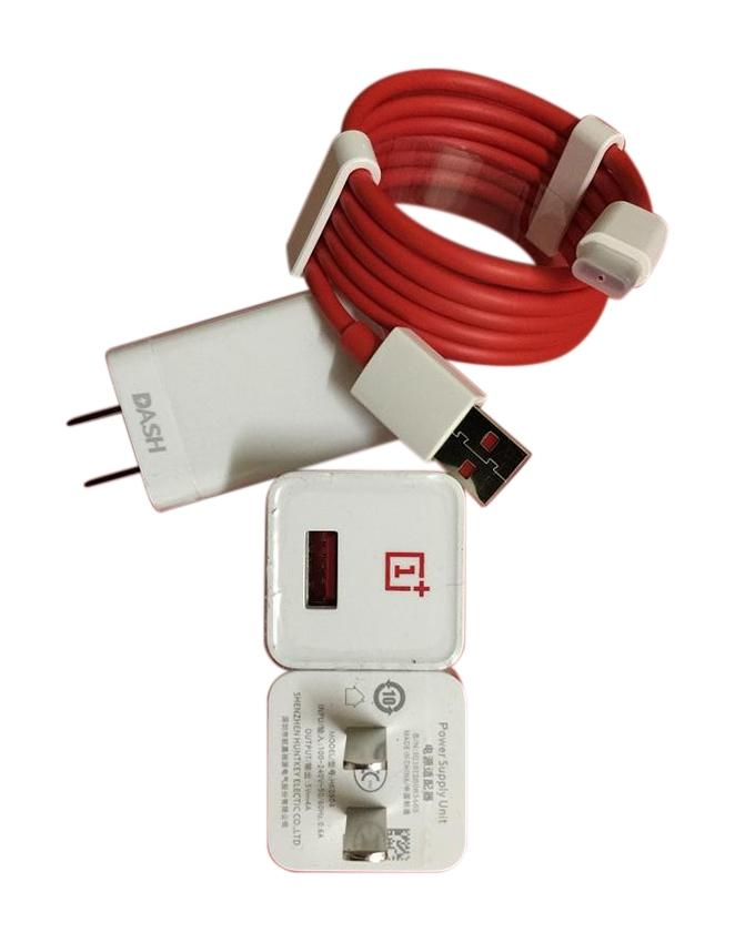 5V2A Travel Charger with Micro USB Cable - Red And White