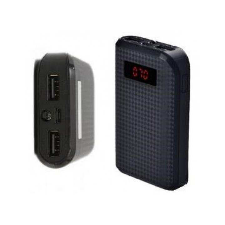 Proda Dual-USB Power Bank 10000mAh - Black