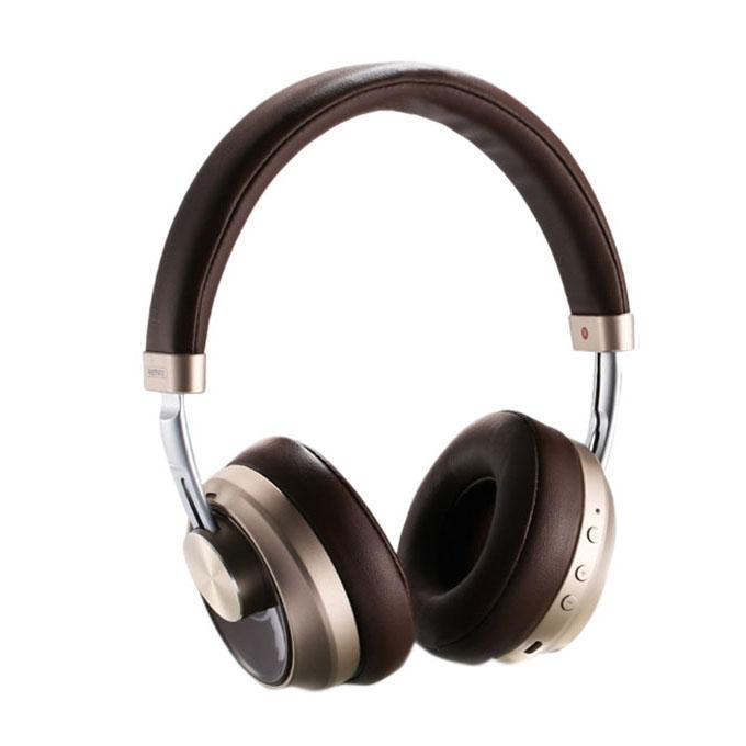 RB-500HB Wireless Bluetooth Headphone - Brown