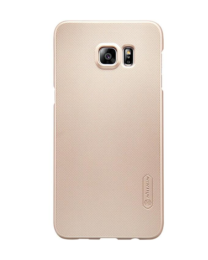Samsung Galaxy S6 Edge Plus Super Frosted Shield Back Case - Golden