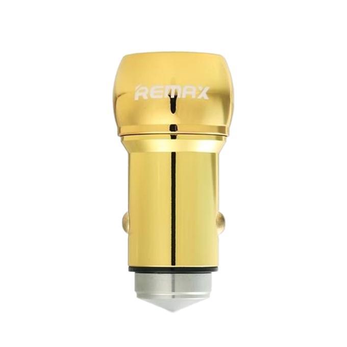 Remax 2.4a 2 USB Port Car Cigarette Lighter Adapter Charger