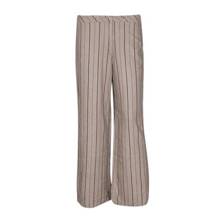 Multi Color Cotton Formal Pant For Women