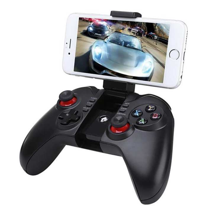 9068 Bluetooth 3.0 Wireless Game Pad Controller Pro Gaming Player Joystick for Android - Black