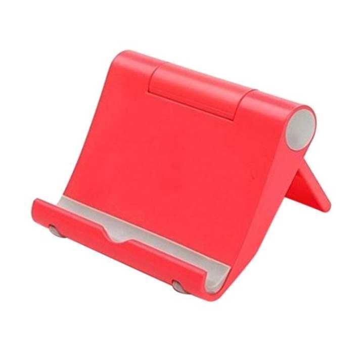 Universal Multi-angle Adjustable Desk Mobile Phone Stand - Salmon