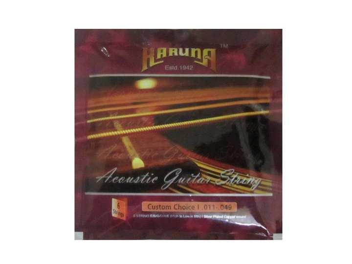Karuna Acoustic Guitar Strings - Silver