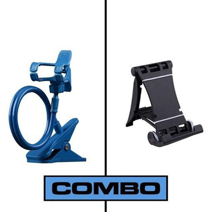Combo Of 360 Rotate Mobile and Tablet Stand & Multi Mobile Tablet Stand