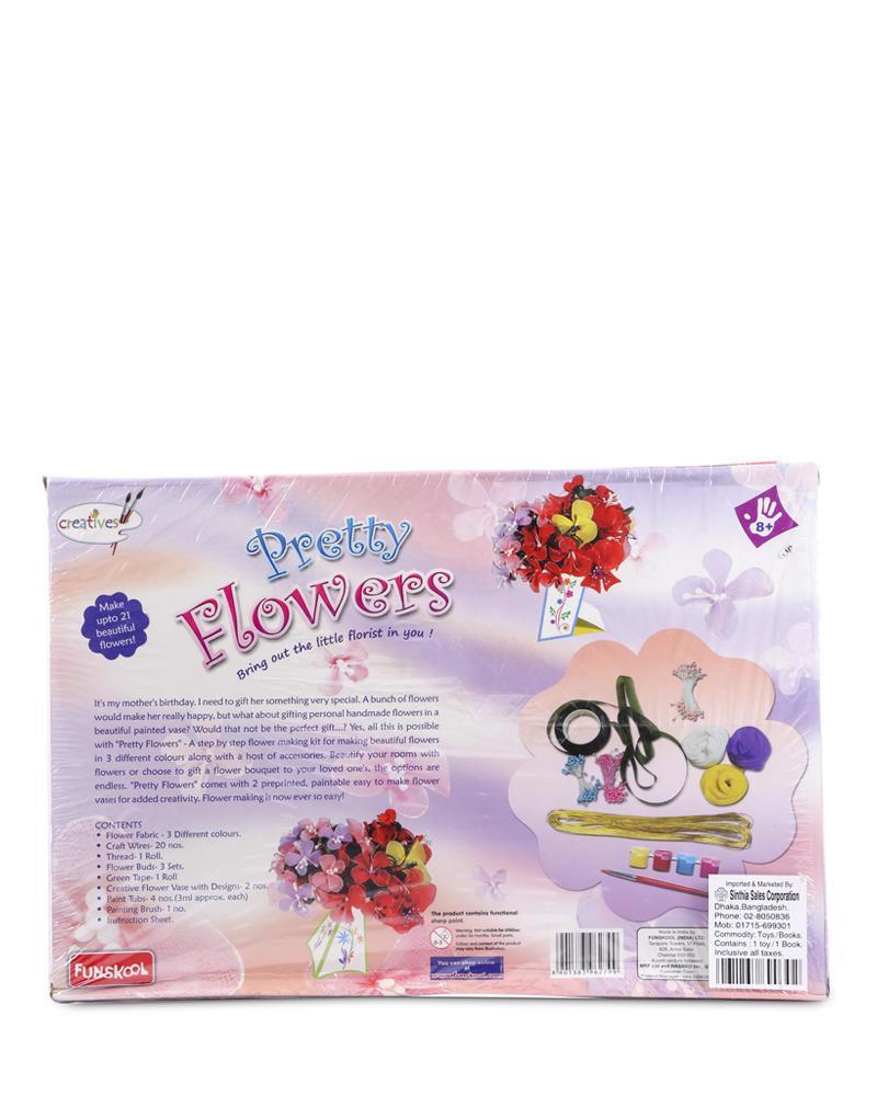 Pretty Flowers Handicrafts - Multi Color