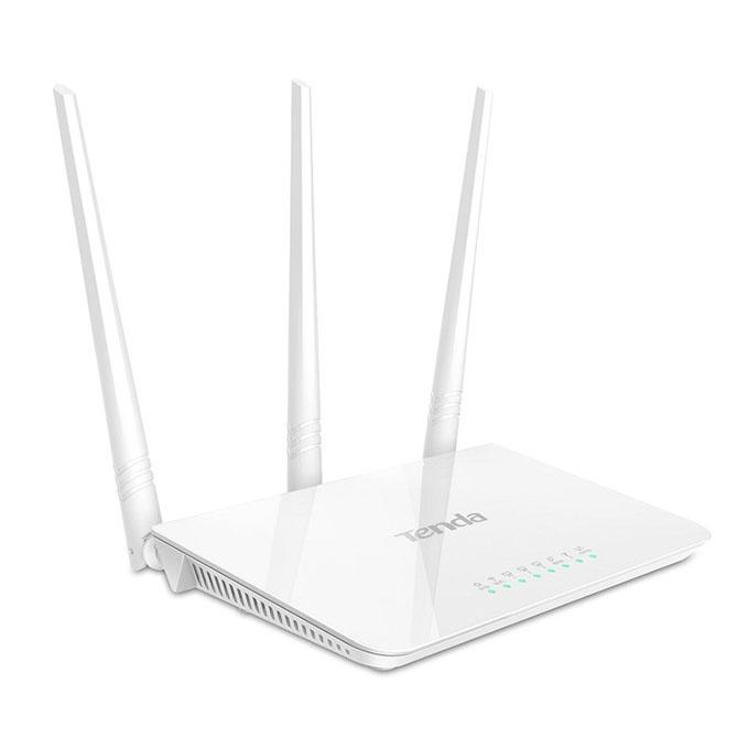 F3 300Mbps Wi-Fi Router - White