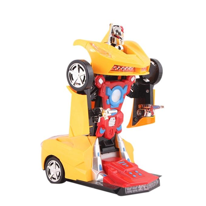Toy Car - Yellow and Red