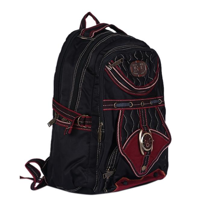 Polyester Backpack - Black