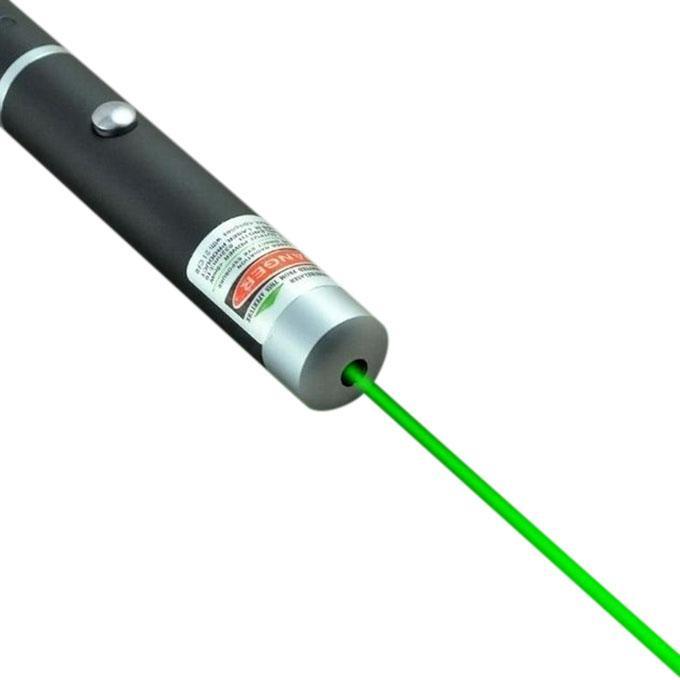 Green Laser Pointer - Black