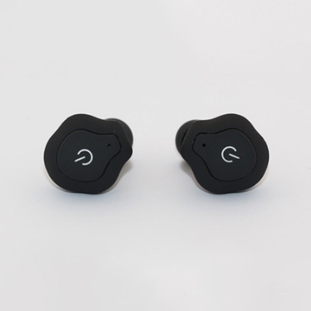 40bd73e37f6 TWS Mini Wireless Bluetooth Earphone Earpiece, Stereo Invisible Earbuds  Headset For Sports White