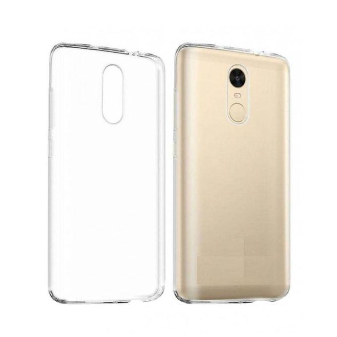 Soft Back Case Cover for Xiaomi Redmi 4 Prime - Transparent