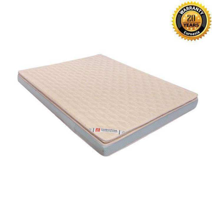 "Euro VIP Orthopedic Mattress – 81""x69"" - 6"" Height (Standard Fabrics)"
