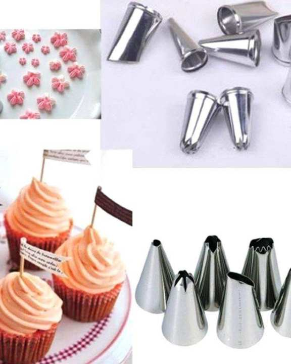 Cake Decoration Tools - Silver