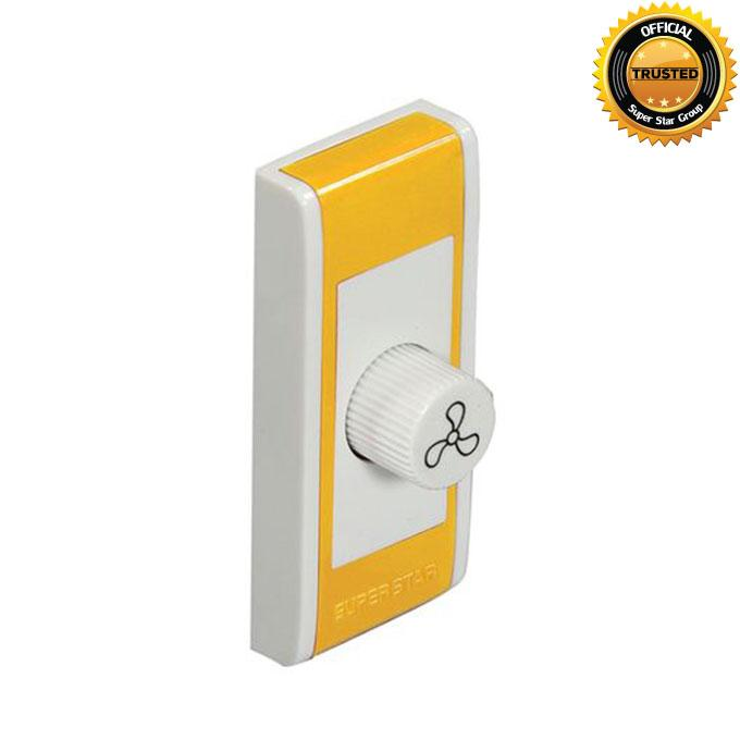 Color Touch Series Color Touch Fan Regulator - Yellow
